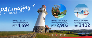 PAL Promo Fare Batanes, Coron, Boracay, Select International Routes