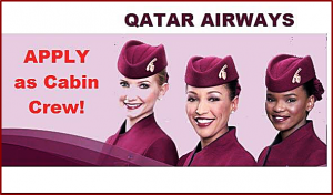 Qatar Airways Cabin Crew Job Hiring-Philippines