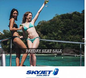 Skyjet Promo September 2016-March 2017 BATANES, BORACAY, CORON