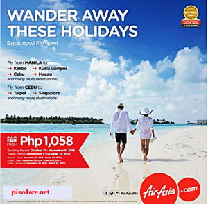 Air Asia 2016-2017 Promo Fare Tickets: On Sale