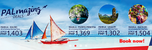 Philippine Airlines Amazing Seat Sale December 2016- January 2017