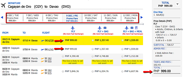 promo_flight_cagayan_de_oro_to_davao