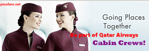 Qatar Airways Female Cabin Crew Job Hiring Clark and Cebu