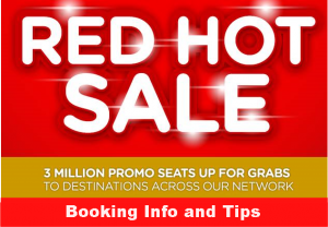 Air Asia Red Hot Sale 2017 to 2018 Booking