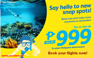 Cebu Pacific Promo Tickets 2016-2017 on sale