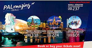 PAL Seat Sale: Bangkok, Bali, Singapore, Canada and other Routes