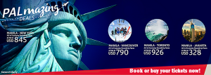 Philippine Airlines Promo Vancouver, Toronto, New York, Jakarta