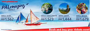 Philippine Airlines Promo Flights December 2016- January 2017