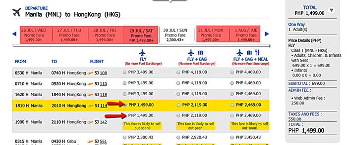Sale_Ticket_Manila_to_Hongkong