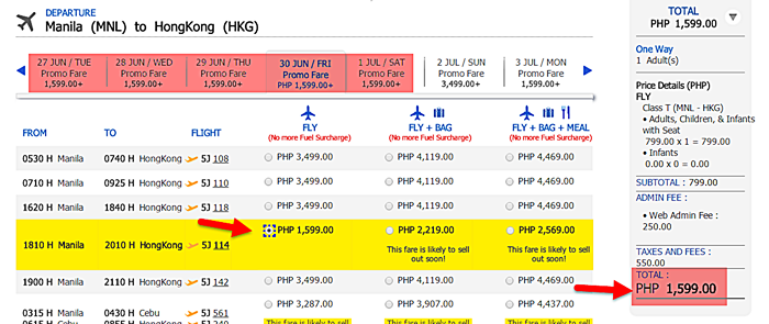 Cebu-Pacific-Seat-Sale-Manila-to-Hongkong