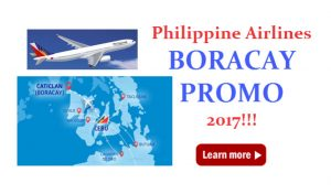 Boracay Promo Tickets 2017 from Philippine Airlines