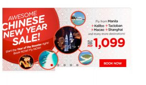 Air Asia January-August 2017 Seat Sale