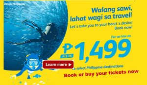 February-April 2017 Promo Deals of Cebu Pacific
