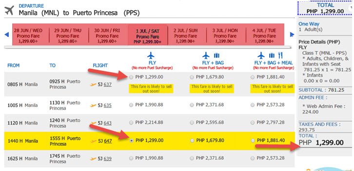 Manila-to-Puerto-Princesa-Promo-Fare-Ticket-2017