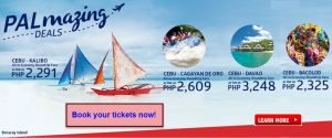 Philippine Airlines Seat Sale February-March 2017