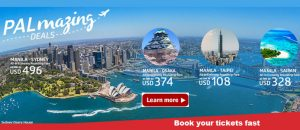 Philippine Airlines February-March 2017 Sale Tickets