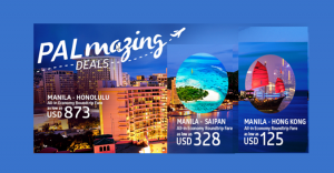 Philippine Airlines March-May 2017 Promo Fare