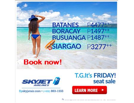 Skyjet-Batanes-Boracay-Coron-Siargao-Promo-Fare-2017