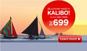 Air Asia P699 Promo for June-November 2017