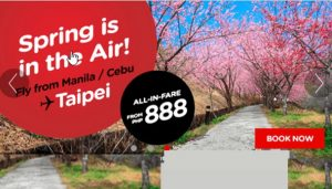 Air Asia Seat Sale March-August 2017 as low as P699