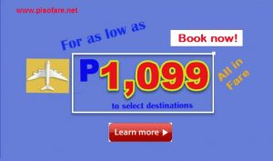 April, May, June 2017 Cebu Pacific Promo Fare