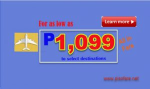 Cebu Pacific April- June 2017 Seat Sale