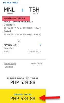 Cebu-Pacific-Promo-Fare-March-2017-Manila-to-Tablas