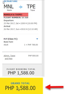 Cebu-Pacific-Seat-Sale-Manila-to-Taipei-March-2017