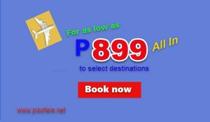 Seat Sale 2017 by Cebu Pacific: June-September