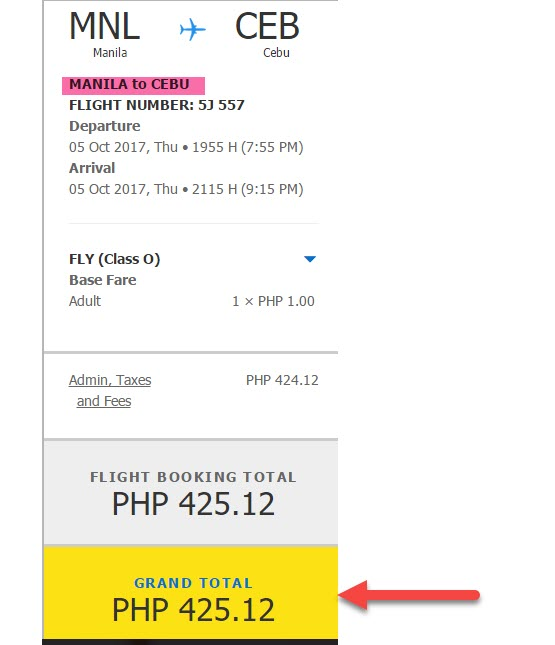 Manila-to-Cebu-PISO-FARE-2017