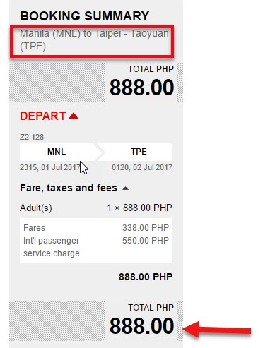 Promo-Flight-Manila-to-Taipei-July-2017