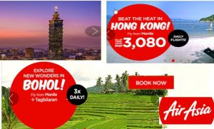 Air Asia Promo Fare March-August 2017