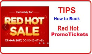 How to Book the Air Asia Red Hot Sale 2017-2018