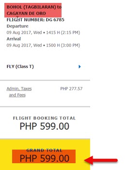Bohol-to-Cagayan-De-Oro-Promo-August-2017