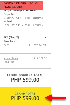 Cagayan-De-Oro-to-Tagbilaran-Promo-flight-October-2017