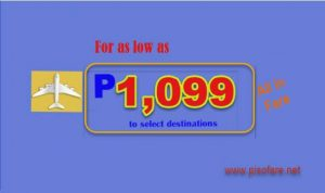 April, May, June 2017 Cebu Pacific Promo Flights