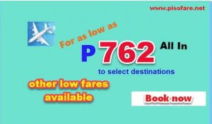 Cebu Pacific April, May, June, July 2017 Promo Fare