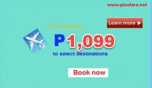 Cebu Pacific April-July 2017 Sale Tickets