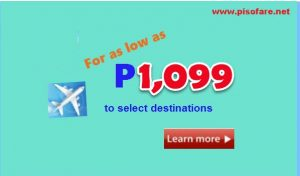 2017 Seat Sale by Cebu Pacific Air: April, May, June, July