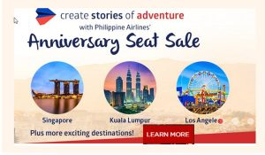 Philippine Airlines International Seat Sale 2017- 2018 76th Anniversary