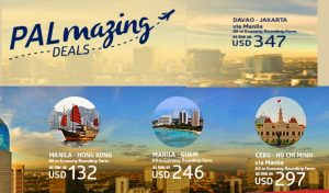 Book the Philippine Airlines Seat Sale: Hongkong, Saigon, Guam, Jakarta