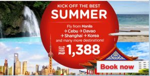 2017 Air Asia Seat Sale: April to September