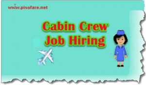 May 2017 Cabin Crew Job Hiring of Cebu Pacific Air