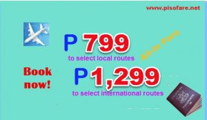 May-August 2017 Cebu Pacific Promo Tickets: on Sale