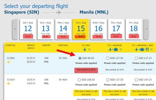 Cebu-Pacific-Promo-Fare-Singapore-to-Manila-August-2017