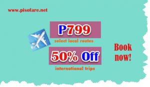 June- August 2017 P799 Cebu Pacific Promo Select Routes