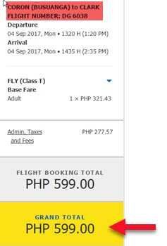 Cebu-Pacific-Sale-Ticket-September-2017-Coron-to-Clark