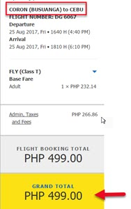 Cebu-Pacific-Seat-Sale-Coron-to-Cebu-August-2017