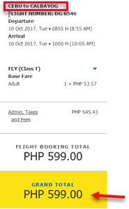 Cebu-to-Calbayog-Cebu-Pacific-Promo-October-2017