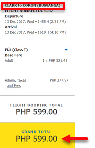 Clark-to-Coron-Cebu-Pacific-Sale-Ticket-December-2017